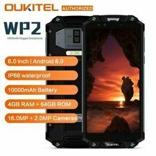 "6.0"" Oukitel WP2 Móvil Impermeable 10000mAh Octa-core CPU 4GB+64GB Android 8.0"