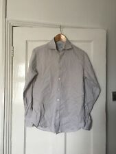 Charles Tyrwhitt Size 14.5 14 1/2 Long Sleeve Stripe Shirt.  (q9)