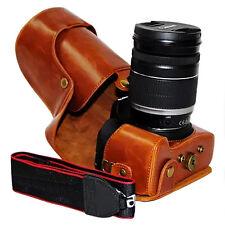 Brown case for Canon Eos 700D 650D 600D Rebel T5i T4i T3i 18-55mm 18-135mm