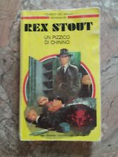REX STOUT - UN PIZZICO DI CHININO - GIALLO MONDADORI - 1989