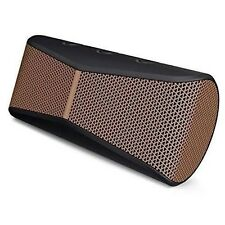 NEW SEALED Logitech X300 Black Brown Mobile Bluetooth Wireless Stereo Speaker