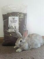 Rabbit Manure Fertilizer, 5 pounds, 2-2-1, Nutrient Dense Compost for Planting