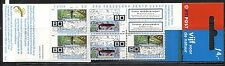 ENDANGERED SPECIES: FISH, DRAGONFLY ON NETHERLANDS 2000 Scott 1061a BOOKLET, MNH