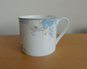Laura Ashley Rose Hill Bone China Mug, Eggshell Blue