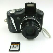 CANON POWERSHOT SX130IS 12.1 MP 12X IMAGE STABILIZED ZOOM PLUS 4 GIG SD CARD