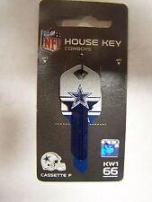 Dallas Cowboys  Kwikset KW1 house key blank