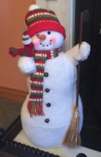 Tradizionale Natale Pupazzo di neve uomo delle nevi Ornamento Natale Festive Decorazione Per Interni