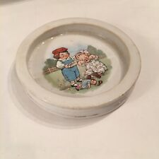 Antique Buffalo Pottery Advertising Grace Drayton Campbell's Kids Child's Bowl