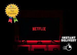 360Jours netflix ULTRA HD 4écrans 4K / 12MOIS 100% fiable / LIVRAISON INSTANTANÉ