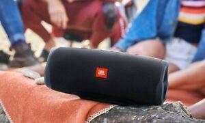 JBL Charge 4 Portable Wireless Bluetooth Speaker - Black - Waterproof