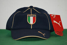 vintage ITALIA FIGC puma world cup cap hat retro 80 90 baggio NOS BNWT sport