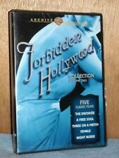 TCM Archives - Forbidden Hollywood Collection - Vol. II (DVD, 2008, 3-Disc) NEW