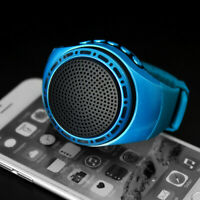 Smart Wireless Bluetooth 3.0 Watch Speaker Outdoor Sport Wrist USB Music Player
