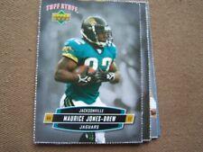 MAURICE JONES - DREW UPPER DECK TUFF STUFF FOOTBALL CARD  ODD BALL