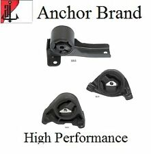 3 PCS Motor & Trans. Mount For 2002-2003 Jeep Liberty 3.7L 2WD - Automatic Trans