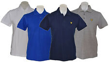 Lyle & Scott Plain Polo Shirt - Mens Tee, Satisfaction guaranteed
