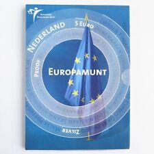 "NETHERLANDS 5 EURO SILVER COIN PROOF SET 2004 ""EUROPAMUNT"" | Dutch Holland"