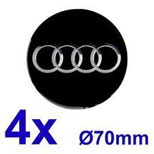 Audi 1 Satz 4Stk. Felgendeckel Nabendeckel Radzierblenden Aufkleber 70mm