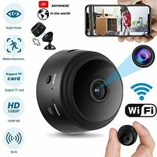 Spy Camera Wireless Hidden HD 1080P Small Security Mini Covert Cam Night Vision