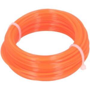 Trimmerschnur 150 m Ø 1,6mm orange Trimmerfaden Mähfaden Trimmerfaden
