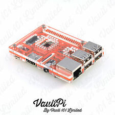 Rosa Caso De Acrílico Para Raspberry Pi 3 Modelo B vaultpi