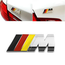 Black Red Yellow BMW Motorsport/M Power Logo Decal Badge Sticker Adhesive M3 M5