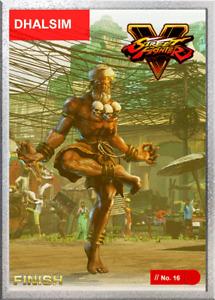 Street Fighter DHALSIM - Digital NFT Blockchain Card - Weld (Pwr: 1) Mint #511