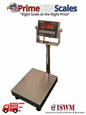 "Bench Scale Optima OP-915 Legal for Trade 24""x24"" 1,000 lb NTEP"