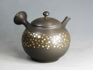 Tokoname Teapot Kyusu by Gisui, #gisui111, D102*H102mm, 360ml