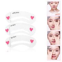 Korean 3 Style Mini Brow Class Drawing Guide Eyebrow card Template helper~RK