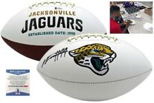 Myles Jack Autographed SIGNED Jaguars Logo Football - Beckett w/ Photo