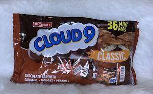 Jack 'n Jill Cloud 9 Classic Chocolate bar with Caramel,Nougat, Peanuts 36mini b
