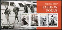 Australia Mid Century Fashion Stamps 2020 MNH Helmut Newton Photography 4v M/S