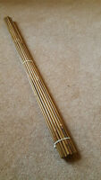 25 Bamboo (Tonkin Cane) Arrow Shafts for DIY Arrow Making rated 50-55lb