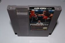 Punch out Mike tyson Nintendo nes American version