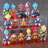 21/16 pcs Dragon Ball Super Saiyan God Action Figure Son Goku Figurine Toys Gift