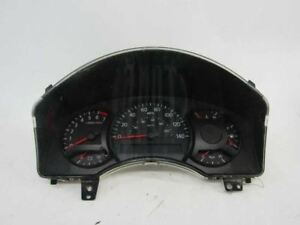 07 Nissan Titan Speedometer instrument Cluster odometer Column Shift 24810-7S24E