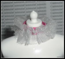 ACCESSORY MATTEL BARBIE DOLL PARISIAN FRANCE DOTW  WHITE LACE GARTER CLOTHING