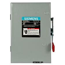 General Duty 30 Amp Single Pole Fusible Indoor Safety Switch with Neutral