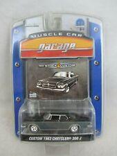 Greenlight  Muscle Car Garage -  '63 Chrysler  300J  NOC  (319CTBK7)