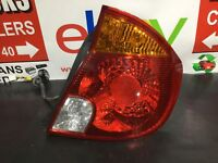 Hyundai Accent Gsi Rear/tail Light (driver Side) 3 Door Hatchback 1999-2006