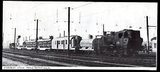 1977  --  TRACTION VAPEUR  TRAIN BETONNEUR EN GARE DE VIERZON EN 1960   3M880