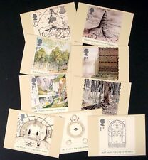 2004 Great Britain Lord Of The Rings Stamps Phq Cards 10 Postcards Stamp Tolkien