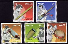 Malta 2001 Traditional Maltese Musical Instruments SG 1230-4 Unmounted Mint