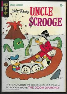 1967 Gold Key Uncle Scrooge #70 F/VF 7.0
