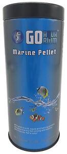 Go Aquarium  Marine Fish Food Pellets 5.3 oz / 150 gm