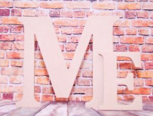 EXTRA LARGE Wooden Letters 40 cm MDF Hand made Plaques Names Signs Cambria