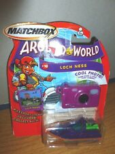 Mattel Matchbox Around World C0743 #10 Loch Ness Boat Camera Scotish New