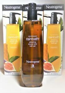 3-Pack NEUTROGENA Original Scent Refreshing Shower Gel 40 oz each NIB