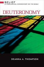 Deuteronomy: A Theological Commentary on the Bible (Hardback or Cased Book)